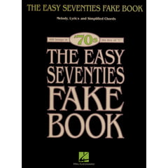 Hal Leonard The Easy Seventies Fake Book