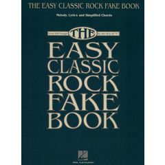 Hal Leonard Easy Classic Rock Fake Book