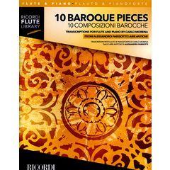 Ricordi 10 Baroque Pieces Flute