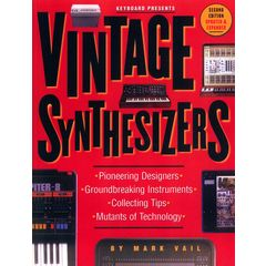 Backbeat Books Vintage Synthesizers - 2nd Ed