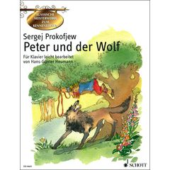 Schott Prokofjew Peter und der Wolf
