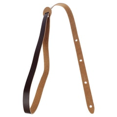 "Levys Leather Mandolin Strap 3/4"" DB"