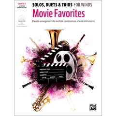Alfred Music Publishing Movie Favorites Alto Sax