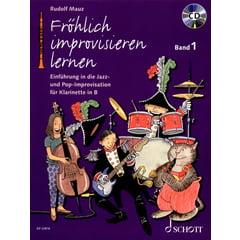Schott Fröhlich improvisieren Clarine