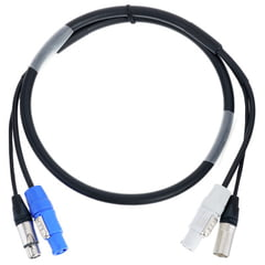 Stairville PWR-DMX3P Hybrid-Cable 1,5m