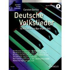 Schott Deutsche Volkslieder Bar Piano