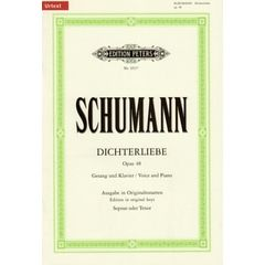 Edition Peters Schumann Dichterliebe op. 48