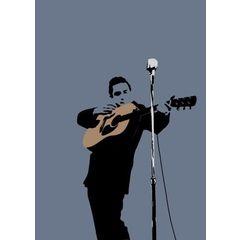 My World Johnny Cash Greeting Card