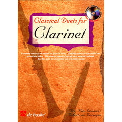 De Haske Classical Duets For Clarinet