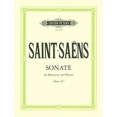 Edition Peters Saint-Saëns Sonate Clarinet