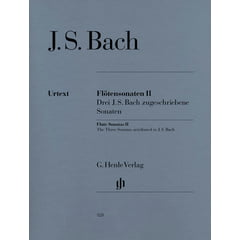 Henle Verlag Bach Flötensonaten 2