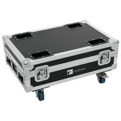 Roadinger Flightcase for 4x AKKU Bar 6