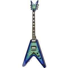 Dean Guitars V Select Quilt Top Ocean Burst