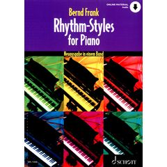 Schott Rhythm-Styles For Piano