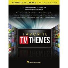 Hal Leonard Favorite TV Themes Piano