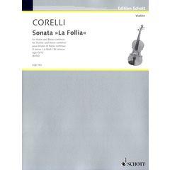 Schott Corelli La Follia Violine