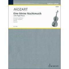 Schott Mozart Eine kleine Nachtmusik
