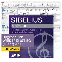 Avid Sibelius Ultimate EDU 1Y New