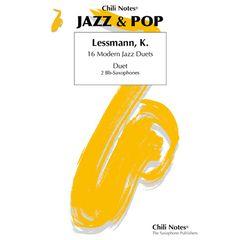 Musikverlag Chili Notes 16 Modern Jazz Duets Tenor-Sax