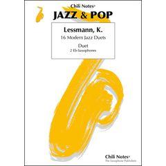 Musikverlag Chili Notes 16 Modern Jazz Duets Alto Sax