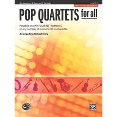 Alfred Music Publishing Pop Quartets For All Alto Sax