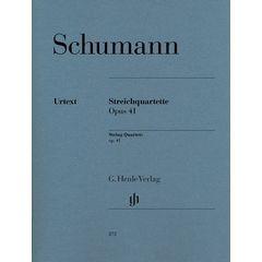 Henle Verlag Schumann Streichquartette op41