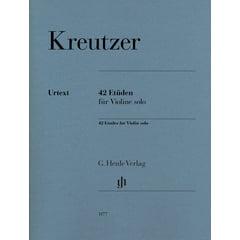 Henle Verlag Kreutzer 42 Etüden Violin