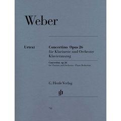 Henle Verlag Weber Concertino op.26