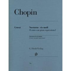 Henle Verlag Chopin Nocturne cis-moll