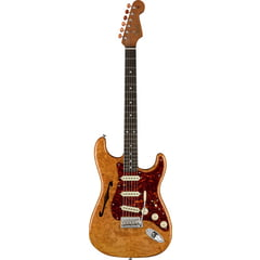 Fender Artisan Strat Thinline Burl AN