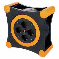 REV Ritter Cable Box X-Tra black - orange