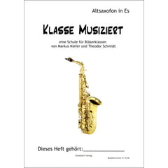 Goldbach Verlag Klasse musiziert A-Sax