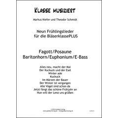 Goldbach Verlag Frühlingslieder Trombone