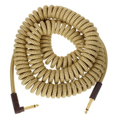 Fender Deluxe Coil Cable 9m YW Tweed