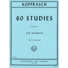 International Music Company Kopprasch 60 Studies Trombone