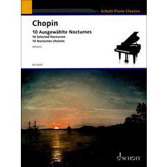Schott Chopin 10 augewählte Nocturnes