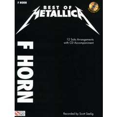 Cherry Lane Music Company Best Of Metallica Horn in F