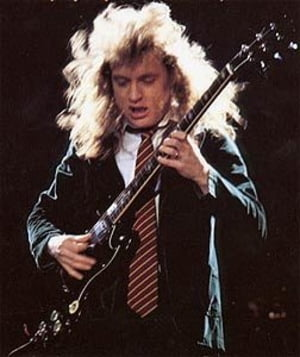 Agnus Young from AC/DC