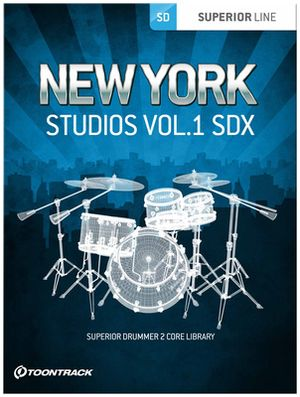 Toontrack SDX New York Studios Vol. 1