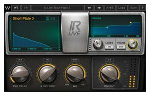 Waves IR-Live Convolution Reverb
