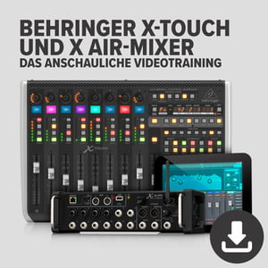 DVD Lernkurs Behringer X-Touch und X Air