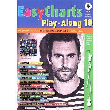 Schott Easy Charts  Play-Along 10