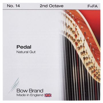 Bow Brand Pedal Natural Gut 2nd F No.14