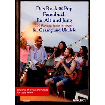 Schott Rock & Pop Fetenbuch Ukulele