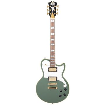 DAngelico Deluxe Atlantic Hunter Green