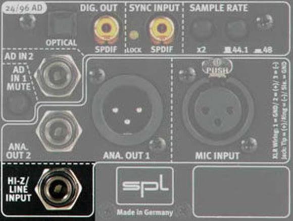 Instrument Input