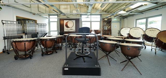 Oddělení klasických bicích