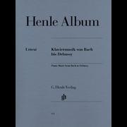 Henle Verlag Henle Album Bach Debussy