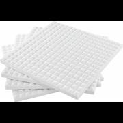 the t.akustik Melamine Pyramid 70mm White