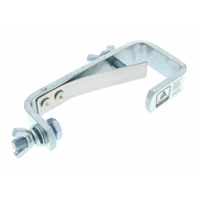 Stairville C-Clamp 50 kg TÜV silver